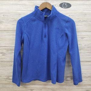 The North Face Royal Blue Half Zip Fleece